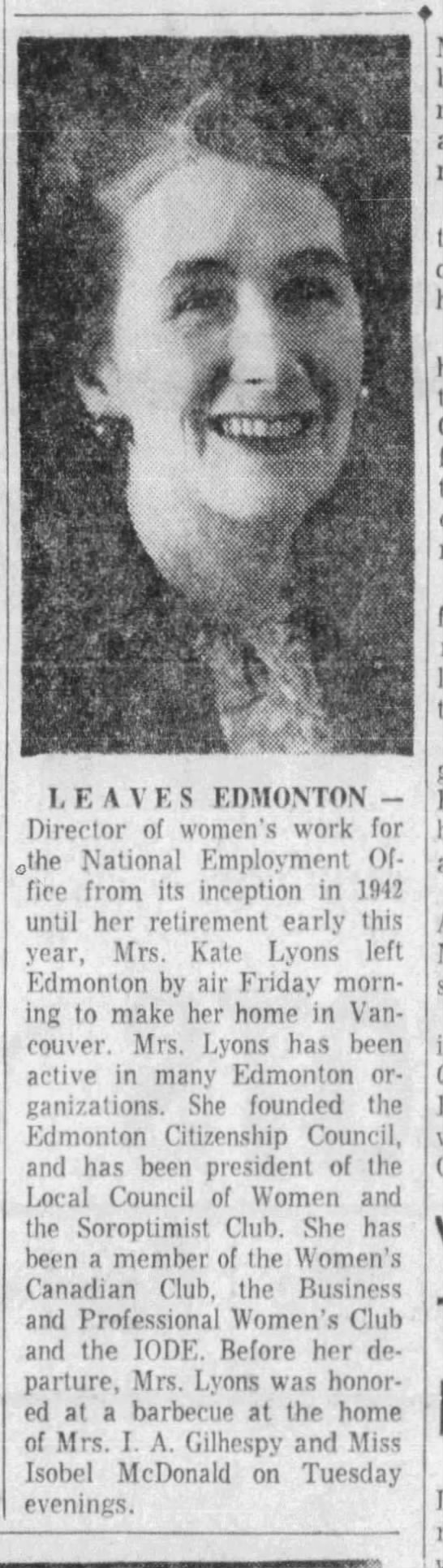Lyons, Kate - The Edmonton Journal, August 5, 1960, Page 17 - article.jpg